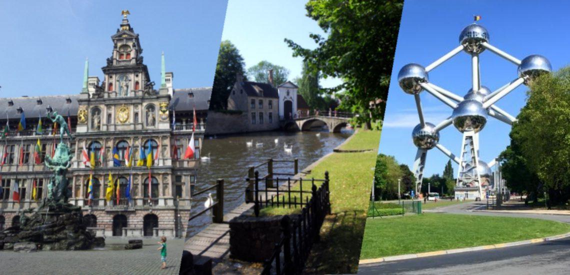 Antwerpen, Brügge und Brüssel